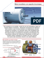 Motor Electrico Con Capacitor de Arranque