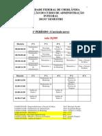 2 - Horário Adm INTEGRAL 2013-1