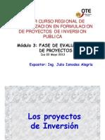 Fase_de_evaluacion de Proyectos de Inversion-julio 2013