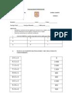 Evaluacion de Matematicas Dif 2