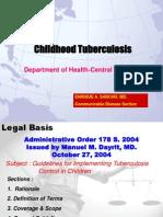 Childhood TB