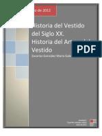 Historia Del Vestido en El Siglo XX