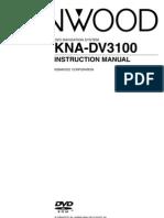 KNA-DV3100 User Manual