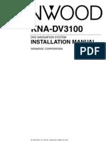 KNA DV3100 Install