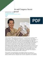 ArticlesSonia Gandhi and Congress Secret Billions Exposed