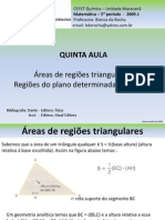 05 - Áreas Triangulares