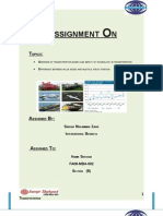 Comprehensive Report on Transportation