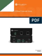 Atlona HDBaseT HDMI and DVI Extenders