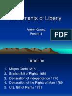 Documents of Liberty