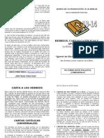 Folleto 13-14 - Hebreos, Cartas Católicas y Escritos de Juan