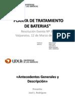 Planta de Tratamiento de Baterias Grupo 4