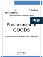 Philippine Bidding Docx on Goods