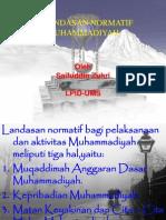 Landasan Normatif Muhammadiyah