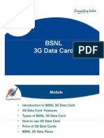 3G DataCard - Power Point
