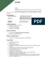Sudhir.resume