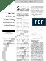 Robotics&Problemsolving