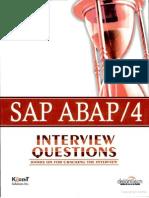 Sap abap interview questions