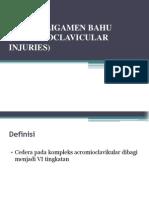 Cedera Ligamen Bahu (Acromioclavicular Injuries)