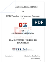 79581661 a Summer Training Report on HDFC Life