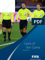 Laws of the Game 2013-2014