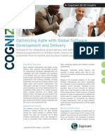 Optimizing Agile with Global Software Development and Delivery