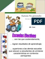 2. Factores No Personales. Esc Efectivas.30