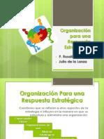 Organización para una Respuesta Estratégica