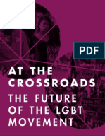 At the Crossroads Future of the LGBT Movement