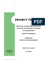 Retea Canalizare Model
