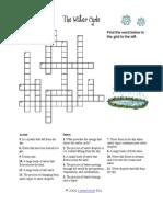 Watercycle Crossword