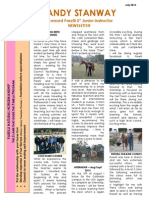 Sandy Stanway's July 2013 Newsletter