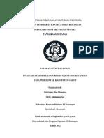 Evaluasi Atas Sistem Informasi Akuntansi Keuangan Pada Pemerintah Kabupaten Garut