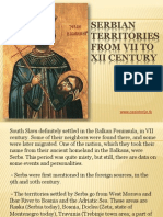 5 - Serbian territories from VII to XII century