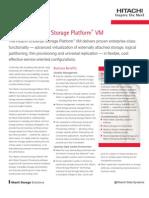 Datasheet - Hitachi Universal Storage Platform VM
