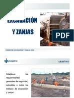 Curso de Excavacion y Zanjas