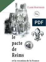 Martigues Claire - Le Pacte de Reims Et La Vocation de La France