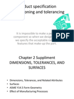 Product specificationDimensioning and tolerancing