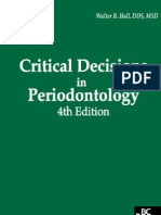 Critical Decisions in Periodontology - Hall