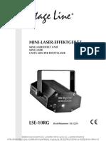 Mini-Unitate Efect Laser Stage Line LSE-10RG