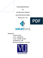 Askari Bank Report Final VU
