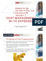 110918 P6 Cost Management With Expenses