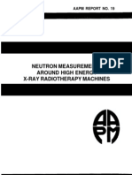 Aapm Report No. 19 Neutron Measurements