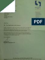 Switalskis Letter