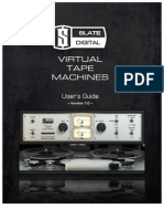 Virtual Tape Machines User Guide