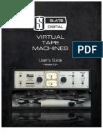 Virtual Tape Machines User Guide