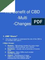 Benefit of CBD