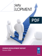 Kosovo national human development report 2008