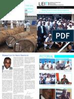 LEITI Newsletter March - September 2012