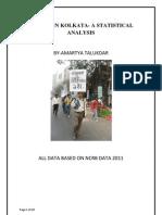 Statistics of IPC 498a Kolkata 2011