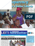 First LEITI Newsletter